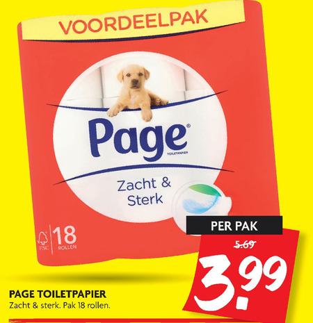 Page   toiletpapier folder aanbieding bij  Dekamarkt - details