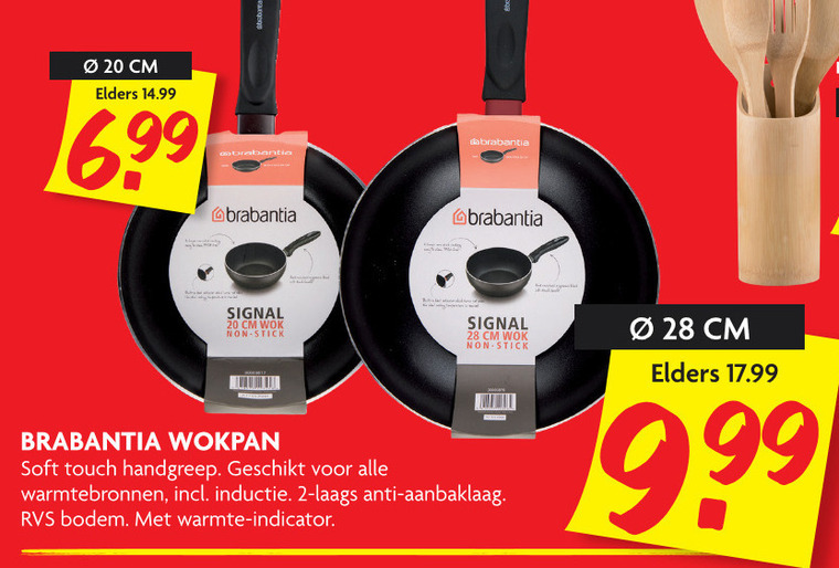 Brabantia   wokpan folder aanbieding bij  Dekamarkt - details