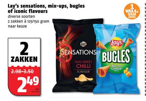 Lays   chips, zoutje folder aanbieding bij  Poiesz - details