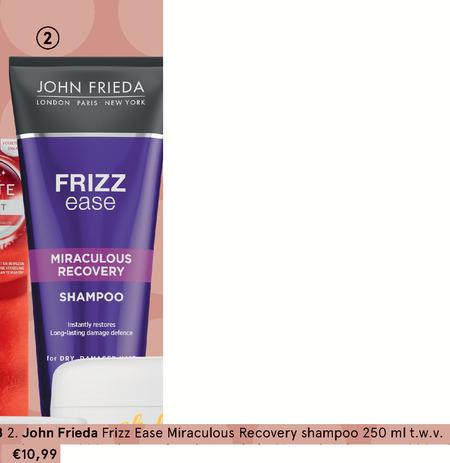 John Frieda   shampoo folder aanbieding bij  Etos - details