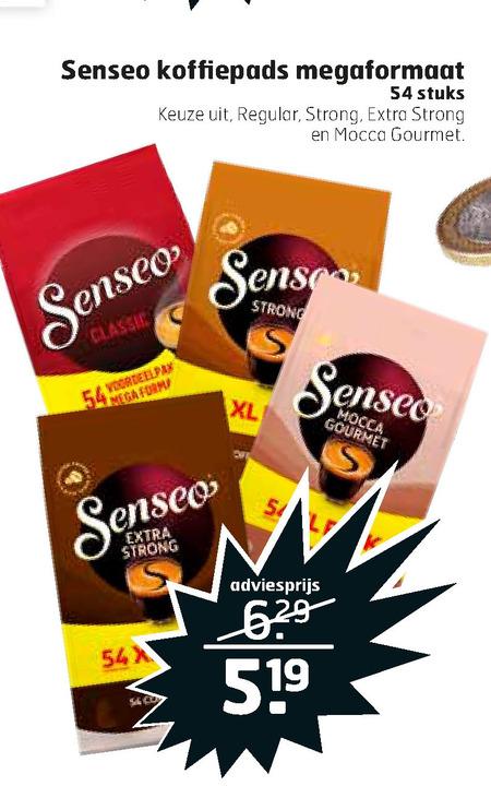 Douwe Egberts Senseo   koffiepad folder aanbieding bij  Trekpleister - details