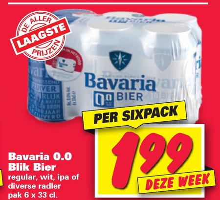Bavaria   alcoholvrij bier folder aanbieding bij  Nettorama - details