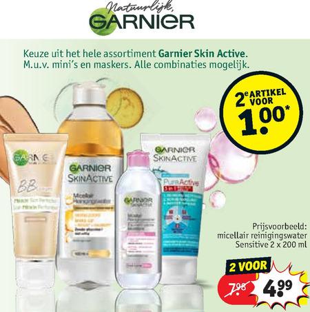 Garnier Skin Active   gezichtsverzorging, dagcreme folder aanbieding bij  Kruidvat - details