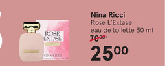 nina ricci eau de toilette 30 rose ml oz