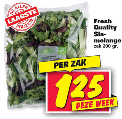sla 200 fresh quality melange zak week
