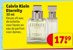 calvin klein eau de toilette parfum 30 eternity ml heren dames