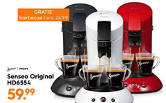 philips koffiepadmachine barbecue senseo sense original