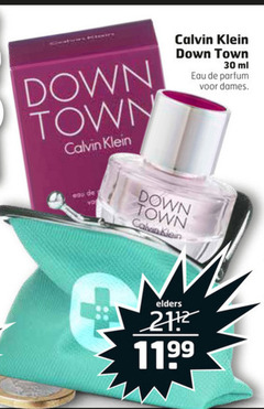 calvin klein eau de parfum 30 down town ml dames elders