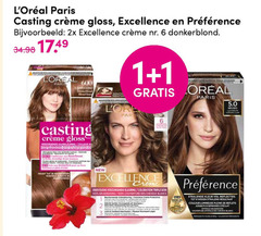preference l oreal excellence haarkleuring 1 6 100 600 paris casting cr gloss 2x donkerblond loreal new coloration triple couverture blancs lewis vel overspanning home tv