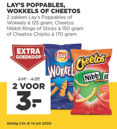 cheetos lays zoutjes 2 3 14 150 2020 wokkels zakken nibbit rings sticks chipito 4 26 paprika flavourites party pack