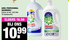 ariel wasmiddel 5 professional formula colour wit 3 liter wasbeurten cleaning power elders to remove tough star stains