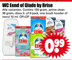 glade wc eend luchtverfrisser toiletblok 1 6 10 150 by brise continu active clean discs pack one touch houder navul ml sensual sandalwood be relaxing fresh floral fantasy disc lire navulling