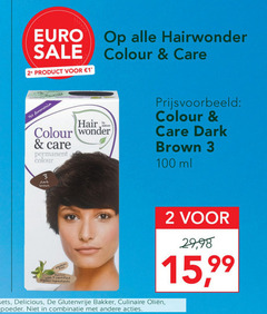 hairwonder haarkleuring 1 2 3 100 colour care ammonia dark brown ml 2. hair wonder permanent glutenvrije bakker culinaire combinatie 15 99 with certified