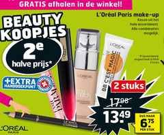 l oreal mascara 2 20 paris make up assortiment combinaties beauty loreal halve oogpotlood le stuks bb tres match stuk