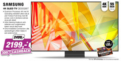 samsung 4k ultrahd televisie 55 96 100 140 300 cm tv quantum processor upscaling full zones donkere detail ultra viewing angle anti reflectie ongehinderd hoek one connection aansluitingen zitten externe box cashback barbecue holiday