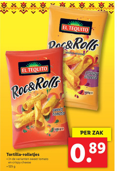 el tequito zoutjes roc rolls tequila rolo mais cheese sweet tomato ge zak tortilla rolletjes crispy