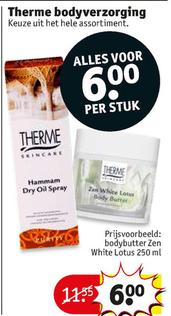 therme bodylotion 250 600 bodyverzorging assortiment stuk hammam dry oil spray body butter bodybutter zen white lotus ml