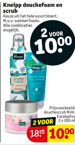 kneipp scrubcreme douchegel 2 1000 douchefoam scrub assortiment combinaties new douche douchescrub mint eucalyptus 2x200ml