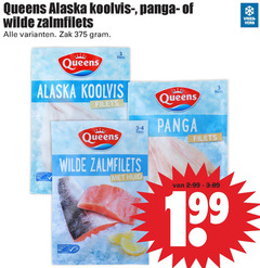 queens pangasius koolvis zalmfilet 3 24 alaska koolvisfilet panga wilde zalmfilets vries vers zak filets gecertificeerd huid