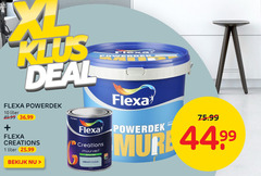flexa muurverf 1 10 deal powerdek liter ferro akzo creations 44 99 hd bekijk dreamy cloud binnen
