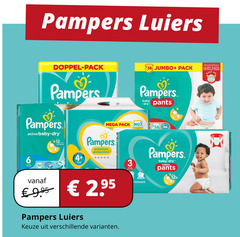 pampers luiers 3 6 12 doppel pack jumbo nappy pants easy baby try mega active dry premium protection