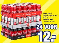 coca-cola cola 5 12 24 1886 coco regal tas since origin origina original single originals coca taste tubola claudia ola regular light zero 33 stuk last fast sugar calon salons war tabela calories