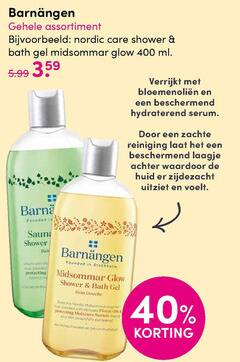 barnangen douchegel 40 400 barn assortiment nordic care shower bath gel glow ml verrijkt hydraterend serum zachte reiniging laagje huid zijdezacht uitziet voelt founded 5.99 to protecting and locatie der