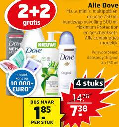 dove bodylotion deodorant douchegel handzeep 2 3 4 500 750 multipakken douche ml navulling protection geschenksets combinaties men deospray original sa kans stuks stuk