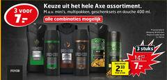 axe douchegel deodorant 3 7 11 150 400 assortiment multipakken geschenksets douche ml combinaties deospray wild green mojito stuks fresh stuk