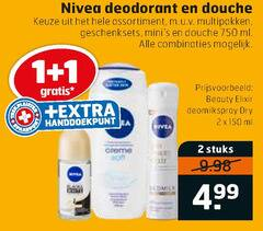 nivea deodorant douchegel 1 2 11 150 750 douche assortiment multipakken geschenksets ml combinaties beauty elixir dry stuks
