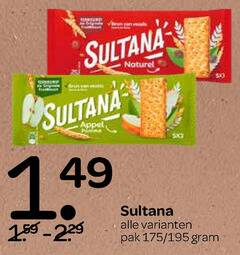 sultana fruitbiscuit 1 naturel pak