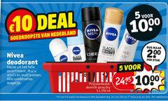 nivea deodorant 1 2 5 10 25 33 50 150 200 1000 deal men nederland black white invisible stuk assortiment multipakken combinaties spray dry ml halve combinatie
