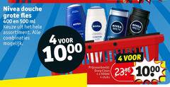 nivea douchegel 4 400 500 1000 men douche fles ml assortiment combinaties deep clean 500ml stuks