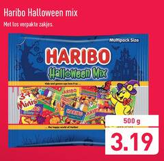 haribo snoep 34 500 halloween mix verpakte zakjes multipack size kids and grown ups love it roulette minis happy world