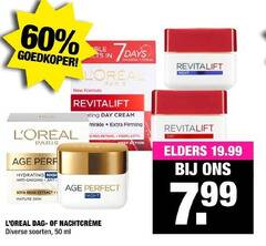 l oreal nachtcreme dagcreme 4 50 60 goedkoper smoother revitalift night new formula coating day cream firming pro retinol deep action paris visage elders hydrating anti soya bean extract mature skin dag soorten ml