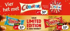 twix celebrations mini chocoladerepen 5 vier welke salted pak limited edition speculoos caramel favoriet