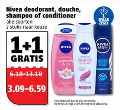 nivea douchegel shampoo conditioner deodorant 1 2 douche soorten stuks spaar men diamond fresh active combinatie kassa