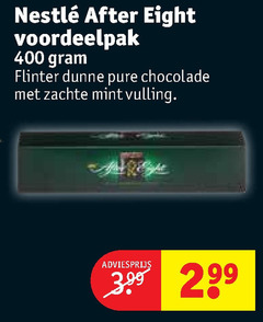 after eight chocolade 3 400 flinter zachte mintvulling