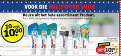 prodent tandpasta 10 1000 hollywood smile assortiment multipakken white combinaties cool mint fresh menthol gel active power hint ml