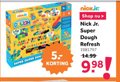 kleispeelsets 5 50 steady nickjr shop nick super dough refresh