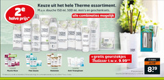 therme douchegel bodylotion deodorant 2 25 150 200 500 2e assortiment douche ml geschenksets combinaties halve therm tv geurstokjes thalasso stuks mystic rose finn sauna hammam anti transpirant zen white lotus combinatie