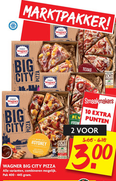wagner diepvriespizza 1 2 10 100 400 diepvries original big texas baking tradition since city hecht natural taste free from artificial flavours and real cheese smaakmakers new punten rom inspired by sydney crispy fluffy dough pizza with chicken grilled peppers bb sauce breast packaging combineren pak