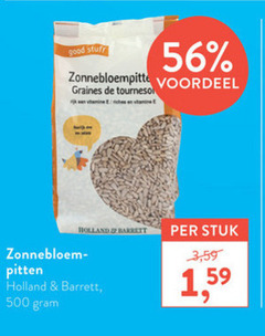 holland and barrett zonnebloempitten 500 good stuff voordeel graines tournesol vanille riches vitamine barret stuk 3 zonnebloem pitten 1