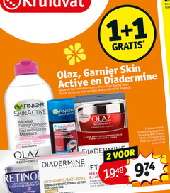 1 2 3 50 ms olaz garnier skin active diadermine assortiment beauty fluid double action anti wrinkle combinaties day by reinigingswater eau nettoyante regenerist advanced charcoal meester points noirs exfoliant essential rimpel ml stick zone laboratoires hydratant hydraterende nacht fi rides jo dubbele werking dag jour visage sans parfum