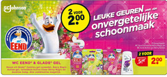 wc eend toiletblok 2 200 geuren schoonmaak end berry action gel glade continu lavendel active clean jasmine jump combinaties