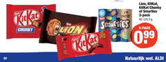 lion kitkat smarties chocoladerepen 3 20 35 chunky pack nestle paper at kit new colours from mature taste be break natuurlijk
