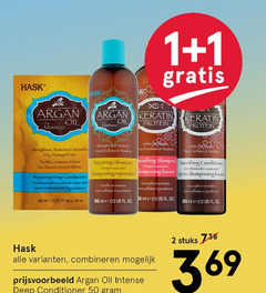 hask shampoo conditioner 1 2 12 50 55 argan oil protein from morocco free parabens dry damaged hair fortifiee repairing smoothing les cheveux deep shampooing r revitalise sans oz ml us stuks combineren intense